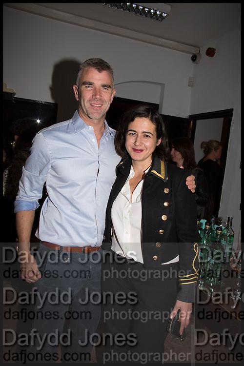 IVAN MASSOW; JOY LO DICO;  Opening of the Trouble Club., Lexington St. Soho London. 6 November 2014