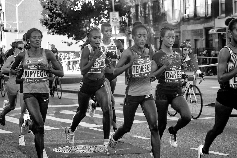 The 2016 New York Marathon.
