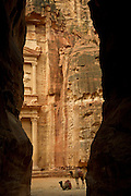 The Treaury building, Petra, Jordan