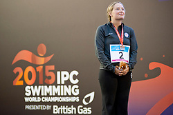 JORDAN Cortney USA at 2015 IPC Swimming World Championships -  Women's 50m Freestyle S7