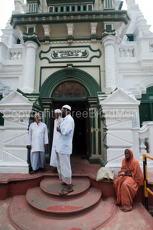 Mosque entrance. New Moor Street. Colombo.