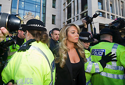 Tulisa Contostavlos appears at Westminster Magistrates Court in London,  Thursday, 19th December 2013. Picture by i-Images