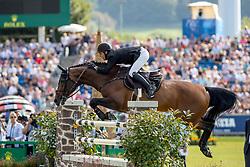 HOUTZAGER Marc (NED), Sterrehof's Calimero<br /> Aachen - CHIO 2019<br /> Rolex Grand Prix 2. Umlauf<br /> Teil des Rolex Grand Slam of Show Jumping, Der Große Preis von Aachen. Springprüfung mit zwei Umläufen und Stechen <br /> 21. Juli 2019<br /> © www.sportfotos-lafrentz.de/Stefan Lafrentz