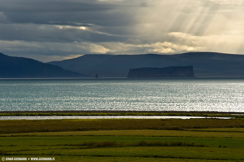 Drangey is located in Skagafjörður, Iceland.