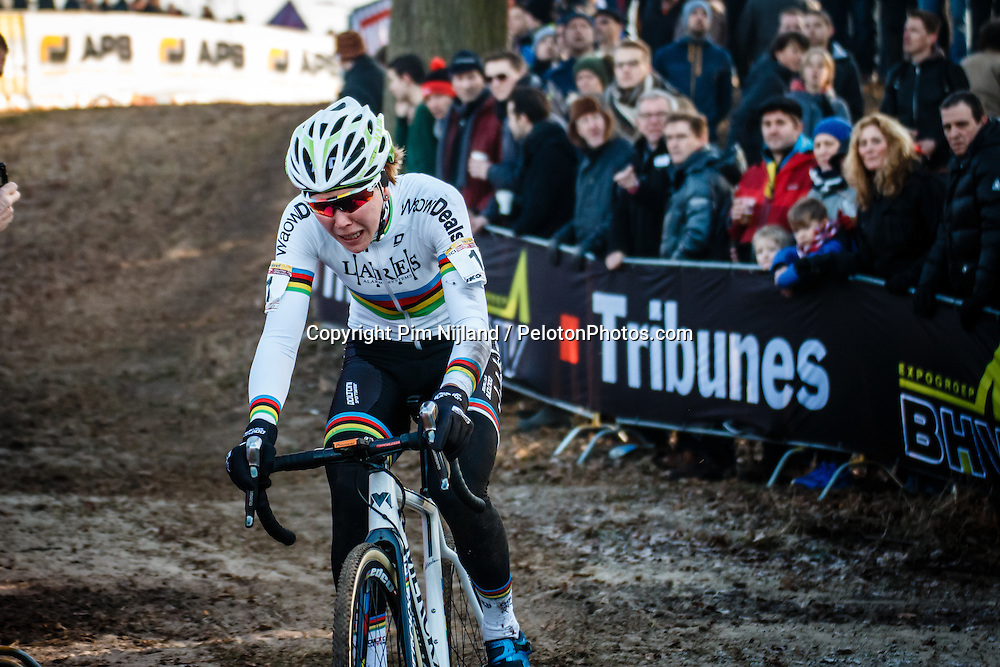 UCI Cyclo-cross World Cup #8 at Hoogerheide, Noord-Brabant, The Netherlands, 22 January 2017. Photo by Pim Nijland / PelotonPhotos.com | All photos usage must carry mandatory copyright credit (Peloton Photos | Pim Nijland)