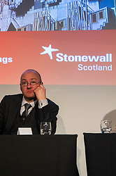 Pictured: Patrick Harvey<br /> <br /> Party leaders Nicola Sturgeon, Kezia Dugdale, Ruth Davidson, Willie Rennie and Patrick Harvie faced questions from the public at an LGBTI election hustings event arranged by Stonewall Scotland, LGBT youth Scotland, Equaity Network and The Scottish Equality Network at the Royal College of Surgeons of Edinburgh. Edinburgh. 31 March 2016<br /> <br /> Ger Harley | Edinburghelitemedia.co.uk