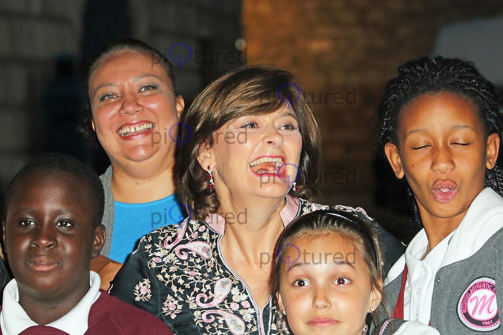 Cherie Blair, Dot Com Children's Foundation Strictly Ballroom - charity dinner, The Mansion House, London UK, 16 September 2014, Photo by Richard Goldschmidt