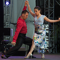 Ana Padron and Diego Blanco (dance instructors)