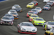 Feb. 20, 2010; Fontana, CA, USA; NASCAR Nationwide Series driver Brad Keselowski (22) races in traffic during the Stater Brothers 300 at Auto Club Speedway. Mandatory Credit: Jennifer Stewart-US PRESSWIRE