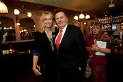 LIZZIE SPENDER; BARRY HUMPHRIES, party after the press night of 'The Last Cigarette' at  the Trafalgar Studios. Party at Walkers, Craig's Court, Whitehall. London.  28 April 2009