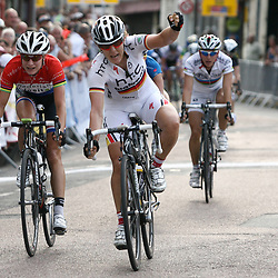 Ina Yoko Teutenberg wint de eerste etappe in de Trophee D'Or Feminin voor Marianne Vos en Emma Johansson