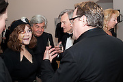 DR. MIRIAM STOPPARD,  ( WITH BLACK EYE SUSTAINED GARDENING) Royal Academy Schools Annual dinner and Auction 2012. Royal Academy. Burlington Gdns. London. 20 March 2012.