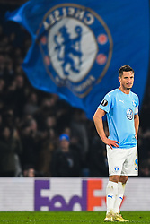 February 21, 2019 - London, Great Britain - 190221 Markus Rosenberg of MalmÅ¡ FF looks dejected after 0-1 during the Europa league match between Chelsea and MalmÅ¡ FF on February 21, 2019 in London..Photo: Petter Arvidson / BILDBYRN / kod PA / 92228 (Credit Image: © Petter Arvidson/Bildbyran via ZUMA Press)