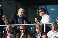 Friidrett<br /> 11. Juni 2015<br /> Exxon Mobil Bislett Games<br /> Svein Arne Hansen (L) , NFIF President , EAA President<br /> Foto: Astrid M. Nordhaug