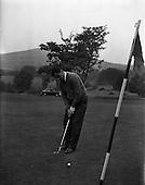1959 - Mr. F. Byrne, Irish Shell World Golf Tournament winner at Delgany Golf course