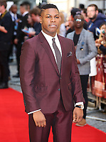 John Boyega, Detroit - European Film Premiere, Curzon Mayfair, London UK, 16 August 2017, Photo by Brett D. Cove