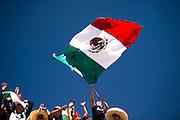 October 29, 2016: Mexican Grand Prix. Fan at Mexican GP
