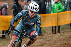 KIPFMÜLLER Fabienne (SUI) during Women Elite race, 2019 UCI Cyclo-cross World Cup Heusden-Zolder, Belgium, 26 December 2019. <br /> <br /> Photo by Pim Nijland / PelotonPhotos.com <br /> <br /> All photos usage must carry mandatory copyright credit (Peloton Photos | Pim Nijland)