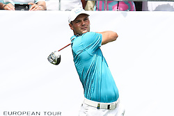 26.06.2015, Golfclub München Eichenried, Muenchen, GER, BMW International Golf Open, Tag 2, im Bild Martin Kaymer (GER) am Abschlag, Tee // during day two of the BMW International Golf Open at the Golfclub München Eichenried in Muenchen, Germany on 2015/06/26. EXPA Pictures © 2015, PhotoCredit: EXPA/ Eibner-Pressefoto/ Kolbert<br /> <br /> *****ATTENTION - OUT of GER*****
