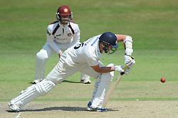 James Fuller of Gloucestershire bats - Photo mandatory by-line: Dougie Allward/JMP - Mobile: 07966 386802 - 09/07/2015 - SPORT - Cricket - Cheltenham - Cheltenham College - LV=County Championship 2