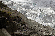 Glacier du Moiry, Switzerland.