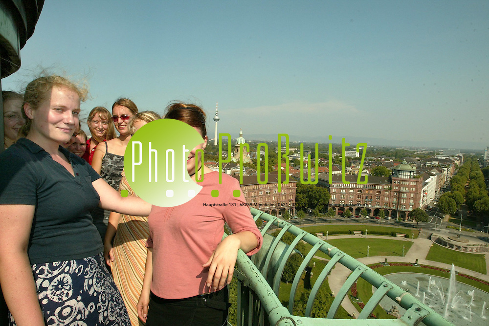 Mannheim. MVV UNI Tour<br /> <br /> Bild: Markus Pro&szlig;witz