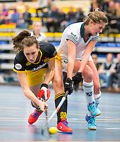 BARNEVELD - Hoofdklasse zaalhockey dames. Den Bosch-Rotterdam (1-0). COPYRIGHT KOEN SUYK