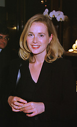 Actress NATASHA LITTLE at a party in London on 18th May 1999.MSD 45