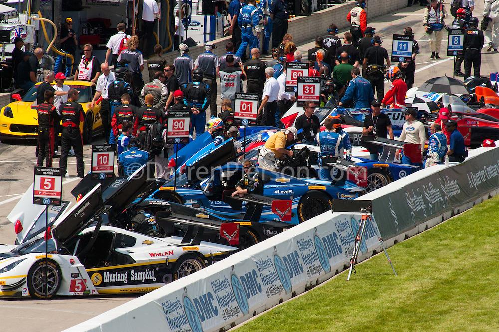 #5 Action Express Racing, Coyote DP Corvette DP: Joao Barbosa, Christian Fittipaldi