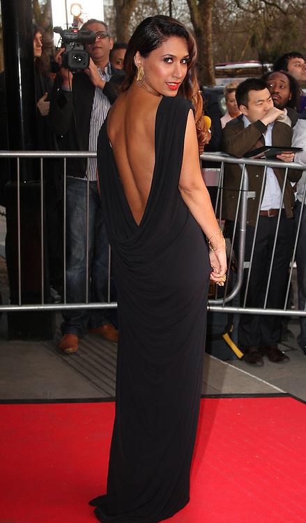Preeya Khalidas arrives at The Asian Awards, at the Grosvenor House hotel, London, UK, on 16 April, 2013, 17 April, 2013. Photo by: i-Images
