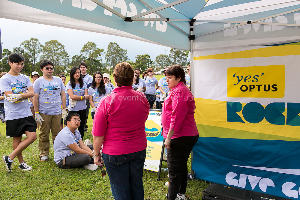 Optus RockCorps Collective Event. Be Uplifted! Inc. Photo By Pat Brunet/Event Photos Australia