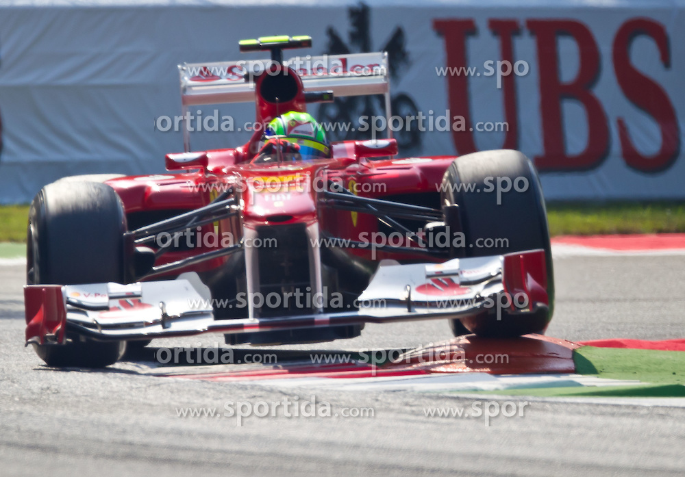 09.09.2011, Autodromo Nationale, Monza, ITA, F1, Grosser Preis von Italien, Monza, im Bild Felipe Massa (BRA), Scuderia Ferrari // during the Formula One Championships 2011 Italian Grand Prix held at the Autodromo Nationale, Monza, near Milano, Italy, 2011-09-09, EXPA Pictures © 2011, PhotoCredit: EXPA/ J. Feichter