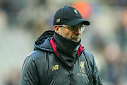 Liverpool manager Jurgen Klopp ahead of the Premier League match between Newcastle United and Liverpool at St. James's Park, Newcastle, England on 4 May 2019.