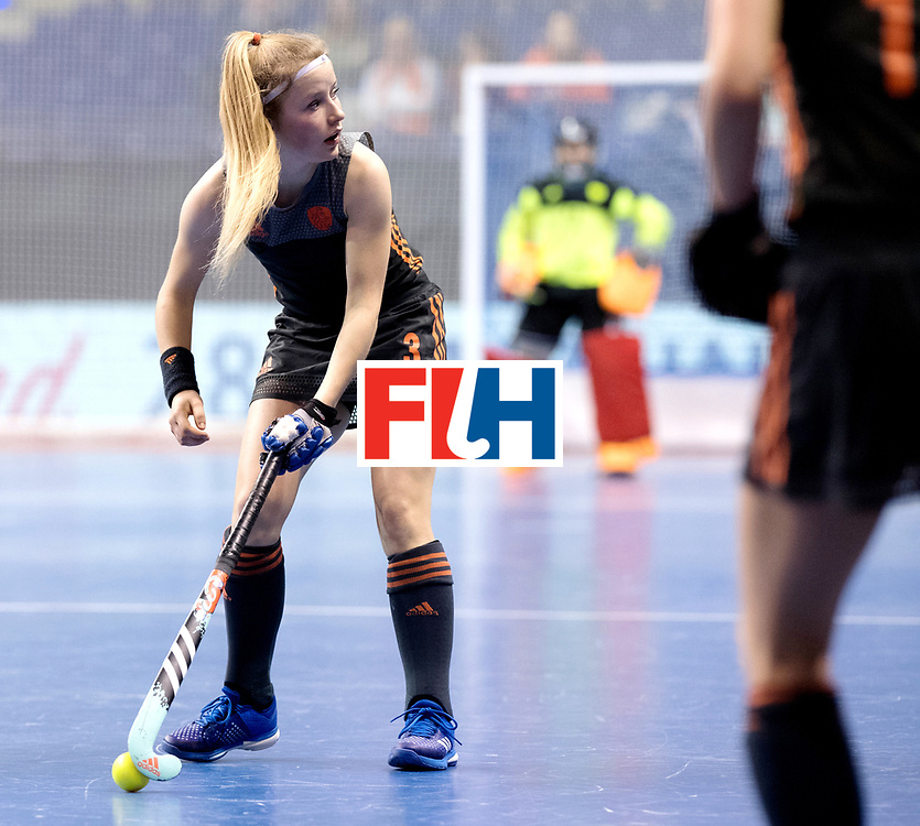 BERLIN - Indoor Hockey World Cup<br /> Women: Netherlands - United States<br /> foto: Gabrielle Mosch.<br /> WORLDSPORTPICS COPYRIGHT FRANK UIJLENBROEK