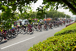 Final lap at Tour of Chongming Island 2018 - Stage 3, a 126.5 km road race on Chongming Island on April 28, 2018. Photo by Sean Robinson/Velofocus.com