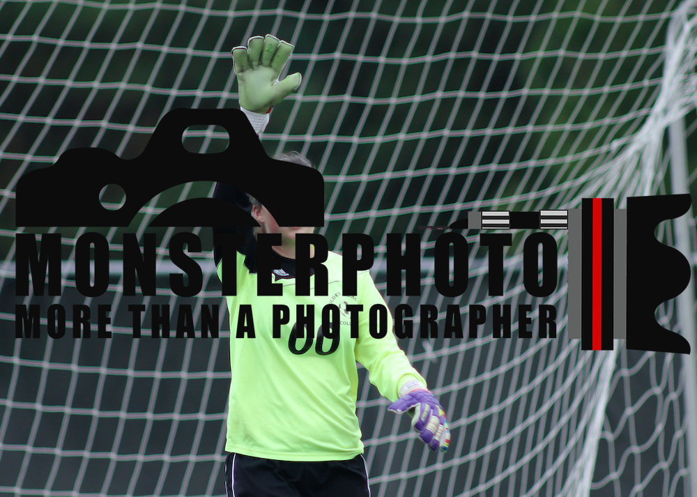 Goldey-Beacom Keeper Alyssa Vetrano (00) during a NCAA regular season match against Holy Family University Tuesday, Oct. 09, 2012 at Kirkwood Soccer Complex...Special to Monsterphoto/SAQUAN STIMPSON