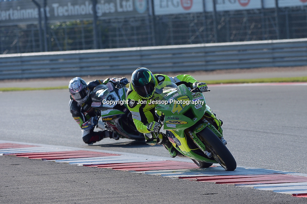 #45 Rhalf Lo Turco SBKCity Racing Kawasaki MCE British Superbikes