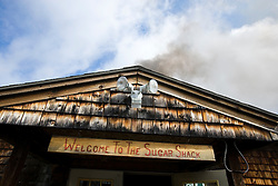 The Sugar Shack in Barrington, New Hampshire.