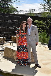 Gary & Lauren Kemp at the RHS Chelsea Flower Show Press Day, Royal Hospital Chelsea, London England. 22 May 2017.<br /> Photo by Dominic O'Neill/SilverHub 0203 174 1069 sales@silverhubmedia.com