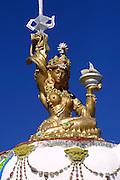 GOBI DESERT, MONGOLIA..09/03/2001.Bayanhongor (Bayankhongor). Stupa hill..(Photo by Heimo Aga).