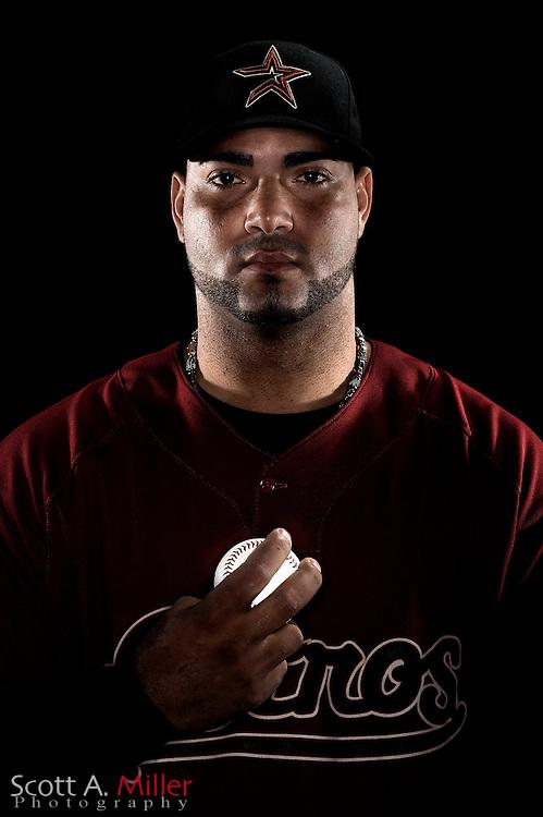Feb. 21, 2009; Kissimmee, FL, USA; Houston Astros pitcher Jose Capellan during photo day at Osceola County Stadium. .©2009 Scott A. Miller