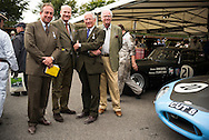Goodwood Revival 2015, Simon Cundy of Henry Poole & friends,