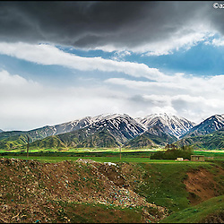 The Qandil Mountains are a mountainous area of northern Iraq near the Iraq–Iran border, and approximately 50 km south of the Turkey–Iraq–Iran tripoint. The region belongs to the Zagros mountain range and is difficult to access. Its highest peaks reach up to 3,000m and more.