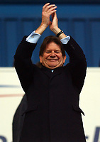 Photo: Daniel Hambury.<br /> Reading v Leicester City. <br /> The Coca Cola Championship.<br /> 26/02/2005<br /> Reading's owner John Madejski before the game.