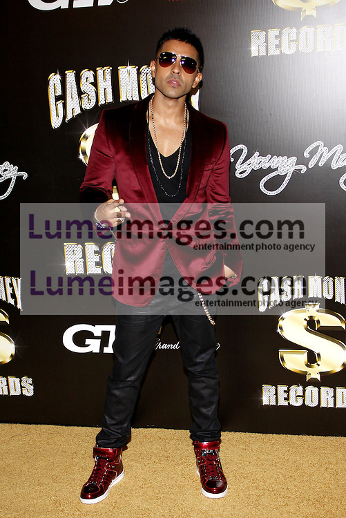 Jay Sean at the 3rd Annual Cash Money Records Pre-Grammy Awards Party held at the Paramount Studios in Hollywood on February 11, 2012.