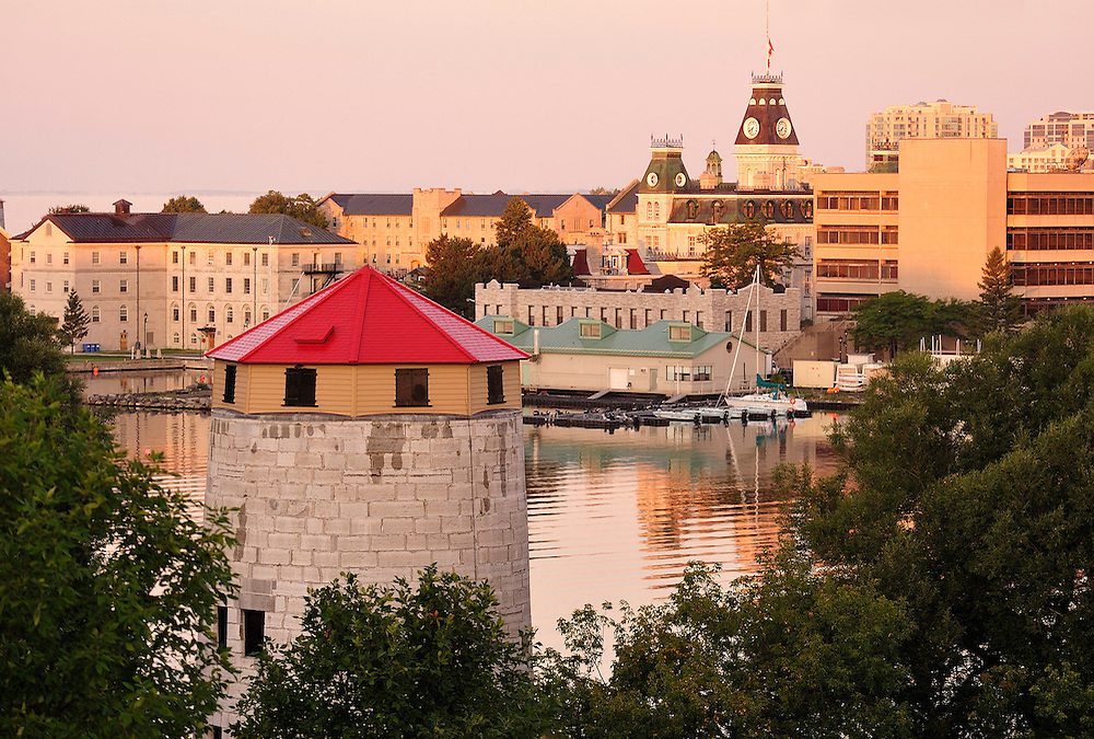 View to Fort Frederick,Kingston, Ontario, Canada,