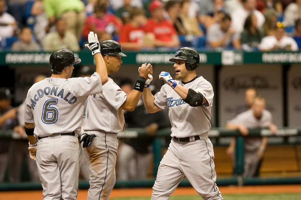 Tampa BAy Devil Rays vs the Toronto Blue Jays on April 8, 2007 in St. Petersburg, Florida. PHOTO/Scott Audette(UNITED STATES)