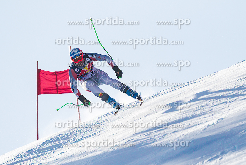 26.01.2013, Streif, Kitzbuehel, AUT, FIS Weltcup Ski Alpin, Abfahrt, Herren, im Bild  Jan Hudec (CAN) // Jan Hudec of Canada in action during mens Downhill of the FIS Ski Alpine World Cup at the Streif course, Kitzbuehel, Austria on 2013/01/26. EXPA Pictures © 2013, PhotoCredit: EXPA/ Juergen Feichter