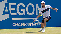 Tennis - 2017 Aegon Championships [Queen's Club Championship] - Day Three, Wednesday<br /> <br /> Men's Singles, Round of 16 - Grigor Dimitrov (BUL) vs Julien Benneteau (FRA)<br /> <br /> Julien Benneteau (FRA) in action on the centre court at Queens Club<br /> <br /> COLORSPORT/DANIEL BEARHAM