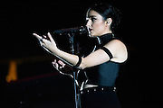 """Photos of Banks performing live for """"The Madness Fall Tour"""" at Prudential Center in Newark, NJ on November 11, 2015. © Matthew Eisman/ Getty Images. All Rights Reserved"""